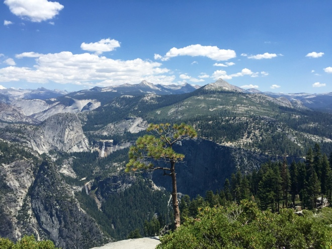 Glacier Point Overlook - Yosemite National Park - Nevada Falls - Vernal Falls - Yosemite - Quinby & Co.
