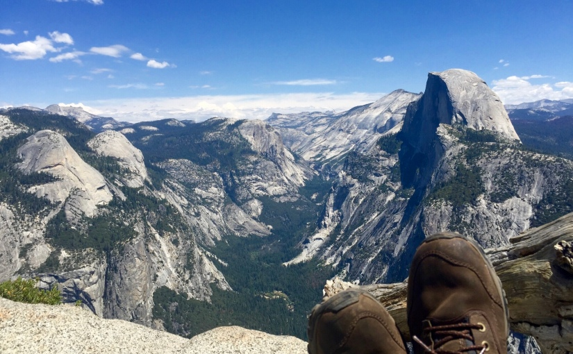 Travel Log: Hearts in Half-Dome