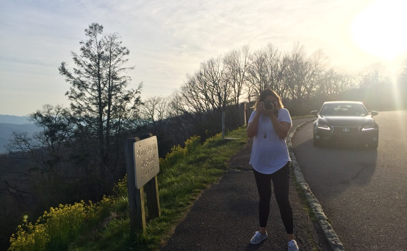 Andrea Pavlov - Plott Balsam Overlook - Blue Ridge Parkway - Smoky Mountains - Great Smoky Mountains National Park - North Carolina - Tennessee