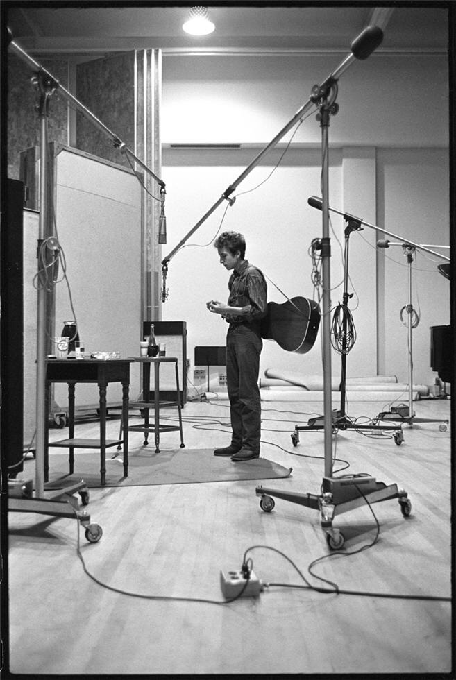 Bob Dylan - Columbia Records - New York City - 1963 - The Freewheelin' Bob Dylan