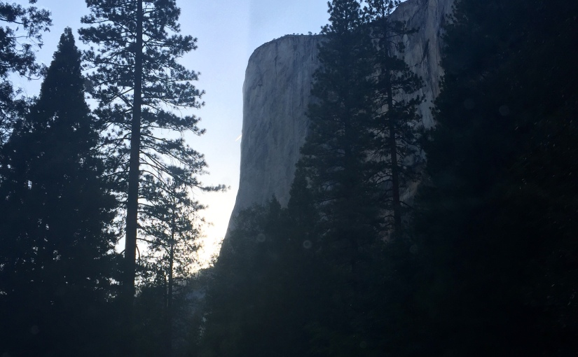 Travel Log: Sundown at Yosemite
