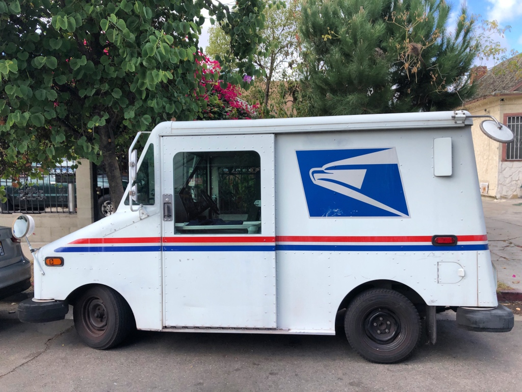 USPS - Mail Delivery Van - Postal Service- Quinby & Co.
